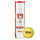 Мяч теннис. WILSON Tour Clay Red, арт. WRT110800